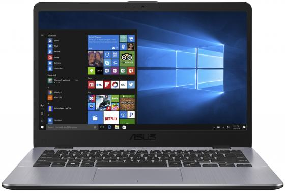Ноутбук ASUS VivoBook 14 X405UA-BM565T 14 1920x1080 Intel Core i3-6006U 256 Gb 8Gb Intel HD Graphics 520 серый Windows 10 Home 90NB0FA8-M13250 ноутбук asus x403ma2930 x403ma2940 14