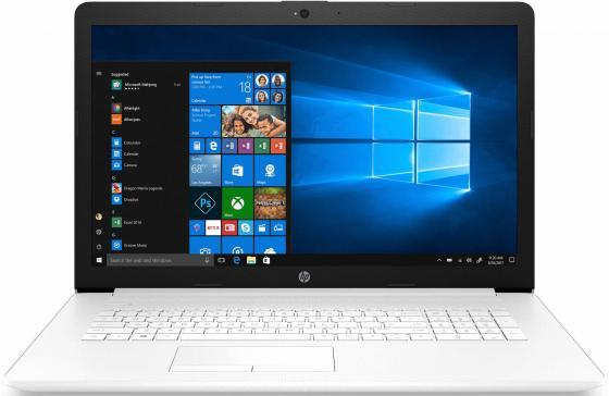 Ноутбук HP 17-by0049ur 17.3 1920x1080 Intel Core i5-8250U 1 Tb 4Gb AMD Radeon 530 2048 Мб белый Windows 10 Home 4MK46EA