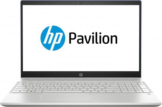Фото - Ноутбук HP Pavilion 15-cs0034ur 15.6 1920x1080 Intel Core i5-8250U 1 Tb 8Gb nVidia GeForce MX150 2048 Мб синий Windows 10 Home 4JU78EA ноутбук asus zenbook ux331un eg080t 13 3 1920x1080 intel core i5 8250u 512 gb 8gb nvidia geforce mx150 2048 мб синий windows 10 home 90nb0gy1 m04290