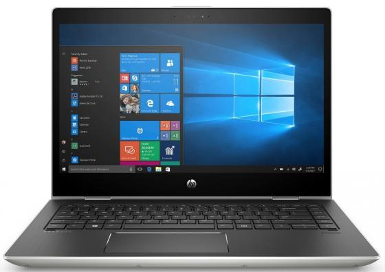 Ноутбук HP ProBook x360 440 G1 14 1920x1080 Intel Core i7-8550U 512 Gb 16Gb Intel UHD Graphics 620 серебристый Windows 10 Professional 4QW42EA ноутбук hp probook x360 440 g1 4lt32ea