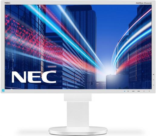"Монитор 27"" NEC EA275UHD белый AH-IPS 3840x2160 350 cd/m^2 6 ms DVI HDMI DisplayPort Аудио USB монитор 27 asus mx27uq серебристый ah ips 3840x2160 300 cd m^2 5 ms hdmi displayport 90lm00g0 b01670"