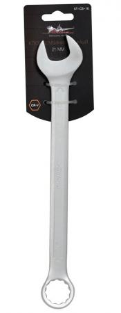 Ключ комбинированный AIRLINE AT-CS-16 (21 мм) Cr-V ключ воротка станкоимпорт cs 34 51 18