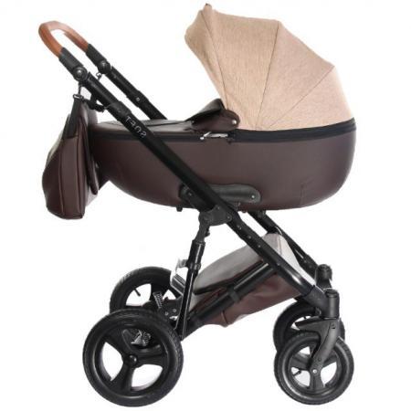 Коляска 2-в-1 Everflo Soft (chocolate) коляска детская 2 в 1 amarobaby soft soft 04 2