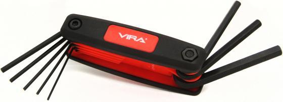 купить Набор ключей VIRA 303144 складной в пластиковом держателе по цене 185 рублей