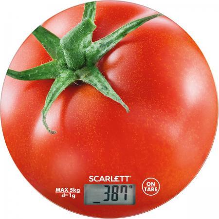 Весы кухонные электронные Scarlett SC-KS57P38 макс.вес:5кг рисунок кухонные весы scarlett sc ks57p38