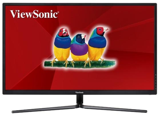 Монитор 32 ViewSonic VX3211-4K-mhd черный VA 3840x2160 300 cd/m^2 3 ms HDMI DisplayPort Аудио