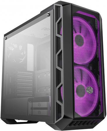 Корпус ATX Cooler Master MasterCase H500 Без БП чёрный MCM-H500-IGNN-S00 корпус cooler master mastercase 3 pro mcy c3p1 kwnn black