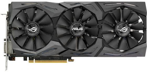 Видеокарта ASUS GeForce GTX 1060 STRIX-GTX1060-A6G-GAMING PCI-E 6144Mb GDDR5 192 Bit Retail 90YV09Q3-M0NA00 видеокарта asus geforce® gtx 950 strix gtx950 dc2oc 2gd5 gaming 2гб gddr5 retail