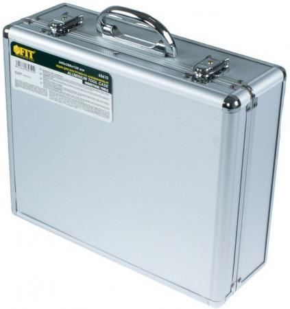 Ящик для инструмента FIT 65610 алюминиевый (34 x 28 x 12 см) ящик для инструмента fit 65620 алюминиевый 43 х 31 х 13 см