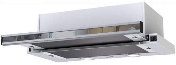 Вытяжка встраиваемая Krona KAMILLA 600 mirror (1 мотора) белый цена 2017
