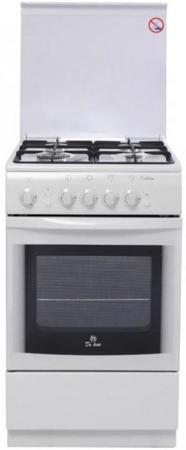Газовая плита De Luxe 5040.44г(кр)чр белый