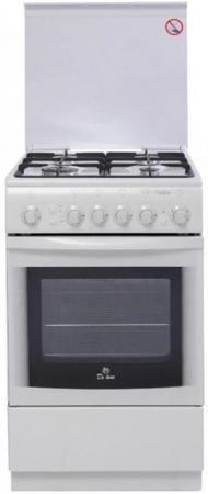 Газовая плита De Luxe 5040.41Г (КР) ЧР белый