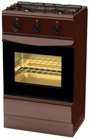 Газовая плита TERRA GER 5204 Br коричневый цена