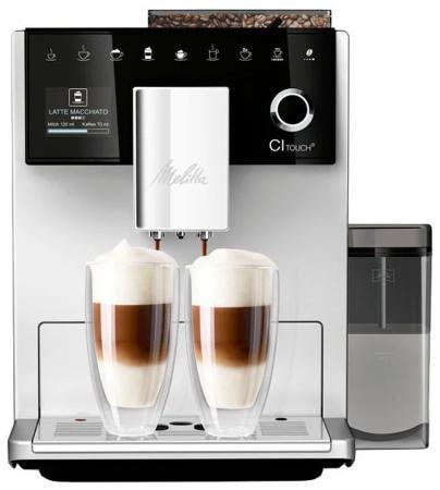 Кофемашина Melitta Caffeo CI Touch 1450Вт серебристый недорого