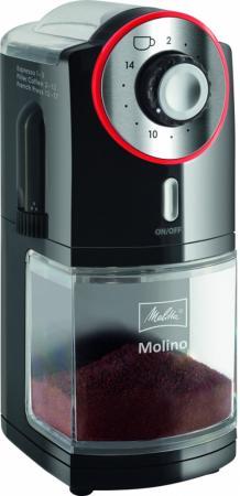 Кофемолка Melitta Molino 100 Вт черный