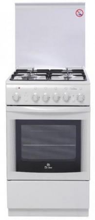 Газовая плита De Luxe 5040.20гэ(кр)чр белый