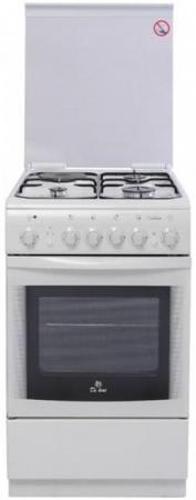 Комбинированная плита De Luxe 506031.00гэ(кр) белый все цены