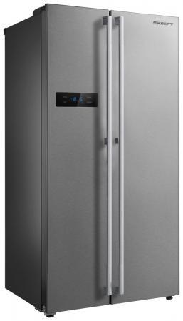 Холодильник Side by Side Kraft KF-MS2581X нержавеющая сталь цена 2017