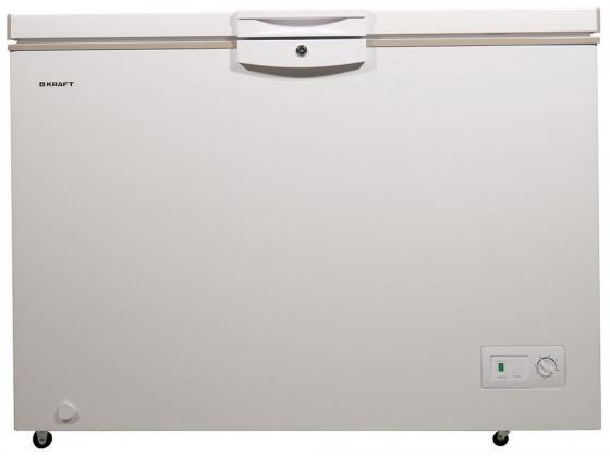 KRAFT HGM 425 (белый + бежевый) Морозильник ларь