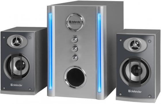 Колонки DEFENDER BLAZE 30 2x5 + 20 Вт серебристый 65026 компьютерная акустика defender blaze 30 silver