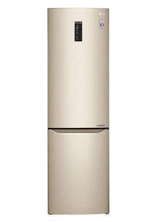 Холодильник LG GA-B499SGKZ бежевый холодильник lg ga b499yeqz бежевый