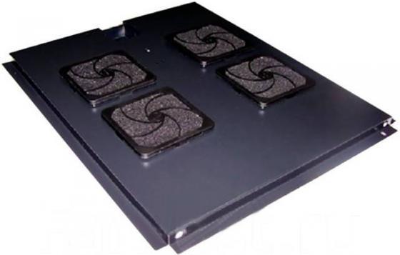 Блок 2-х вентиляторов в крышу шкафа Business глубиной 1000 мм, (с подшипниками)
