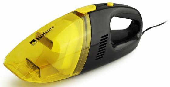 Автомобильный пылесос Kolner KAVC 12/60 сухая уборка жёлтый черный автомобильный пылесос kolner kavc 12 60 сухая уборка жёлтый черный