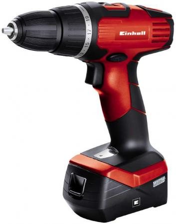 Дрель аккумуляторная EINHELL TH-CD 14,4-2 2B Li (4513671) 14,4В 2х1,3Ач 33Нм Li-ION einhell rt mg 10 8 1 li