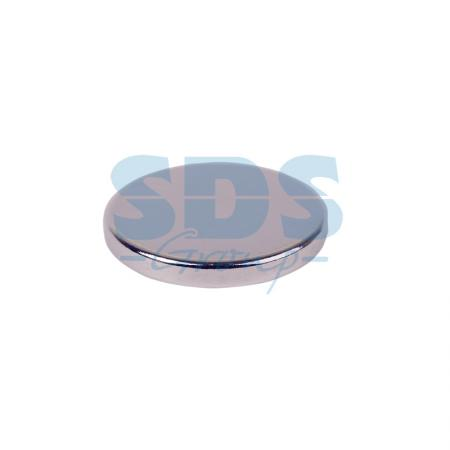 купить Неодимовый магнит диск 15х2мм сцепление 2,3 кг (упаковка 5 шт) Rexant по цене 199 рублей