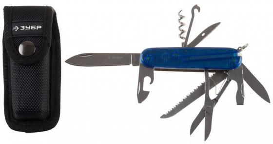 Нож ЗУБР 47785 эксперт складной многофункциональный пластиковая рукоятка 12 в 1 нож зубр 33205 22 10