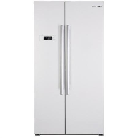 Холодильник Side by Side SHIVAKI SBS-530DNFW белый холодильник shivaki sbs 615dnfw
