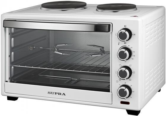 Мини-печь Supra MTS-422 42л. 2000Вт белый мини печь supra mts 3201r