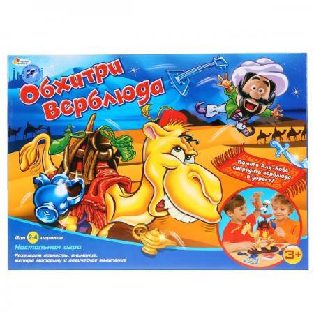 Настольная игра логическая ИГРАЕМ ВМЕСТЕ Обхитри верблюда настольные игры играем вместе игра настольная футбол