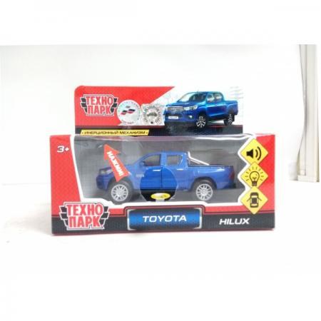 Автомобиль Технопарк TOYOTA HILUX синий FY6118-SL