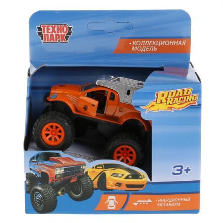 Автомобиль Технопарк ДЖИП ROAD RACING цвет в ассортименте W7730-R автомобиль технопарк мутант road racing синий 1619260 r