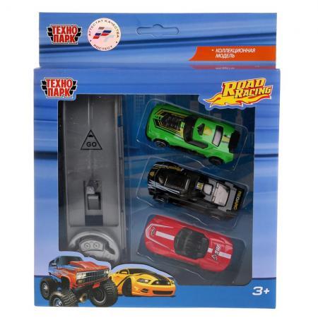 Автомобиль Технопарк ROAD RACING цвет в ассортименте 1077-R автомобиль технопарк мутант road racing синий 1619260 r