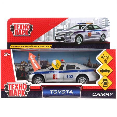 Полицейский пикап Технопарк TOYOTA CAMRY ПОЛИЦИЯ 12 см белый CAMRY-P-SL