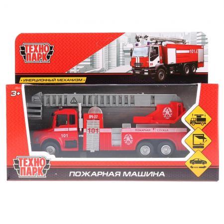 все цены на Пожарная машина Технопарк ПОЖАРНАЯ МАШИНА 15 см красный 251A1-R онлайн