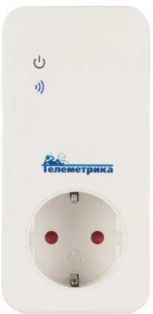 GSM-розетка ТЕЛЕМЕТРИКА Т40 до 3,5 кВт управление через приложение или СМС