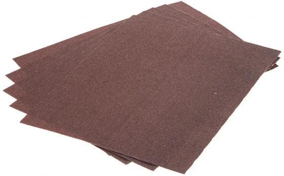 Листы шлифовальные Hammer Flex 241-007 230x280мм, P240 (5шт), бумажная основа цена
