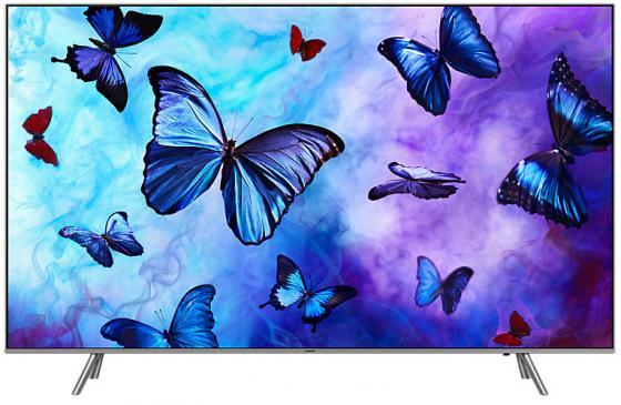 Телевизор LED 49 Samsung QE49Q6FNAUXRU серебристый черный 3840x2160 200 Гц Wi-Fi Smart TV RJ-45 цена