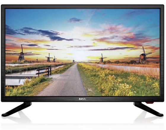 Телевизор LED 20 BBK 20LEM-1027/T2C черный 1366x768 50 Гц VGA HDMI USB телевизор 39 thomson t39rse1050 черный 1366x768 50 гц vga usb