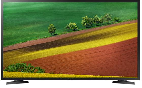 "Телевизор 32"" Samsung UE32N4500AUXRU черный 1366x768 50 Гц Wi-Fi Smart TV USB RJ-45"