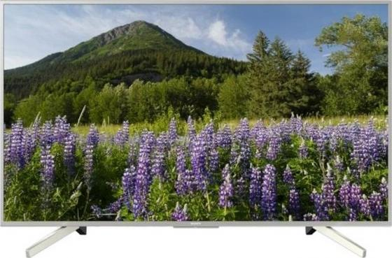 "Телевизор LED 55"" SONY KD-55XF7077 серебристый 3840x2160 400 Гц Wi-Fi USB цена 2017"