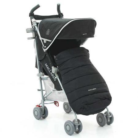 Коляска-трость Maclaren Quest Sport (winter style set black) коляска трость maclaren quest макларен квэст linen black wm1y041522