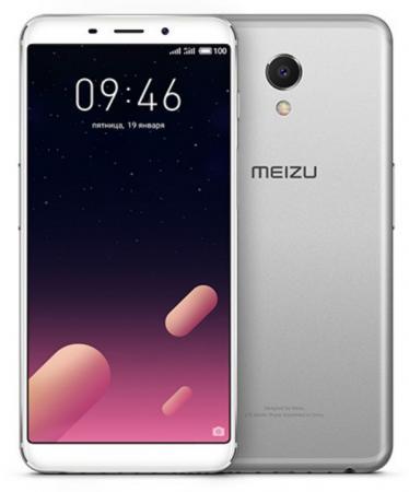 Смартфон Meizu M6s серебристый 5.7 32 Гб LTE Wi-Fi GPS 3G смартфон doogee x10 серебристый 5 8 гб wi fi gps 3g mco00055519