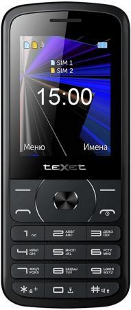 teXet TM-D229 черный Мобильный телефон мобильный телефон texet tm 501 черный