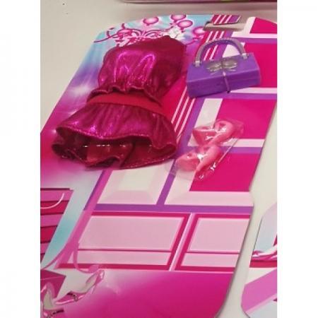 ОДЕЖДА ДЛЯ КУКОЛ 29СМ СОФИЯ, ТМ КАРАПУЗ, РОЗОВОЕ ПЛАТЬЕ, ОБУВЬ, СУМОЧКА, НА БЛИСТЕРЕ в кор.48шт карапуз одежда для куклы карапуз боди 40 42 см розовое