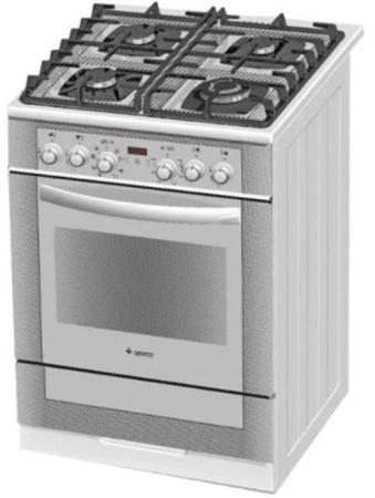 Газовая плита Gefest 6502-03 0242 белый