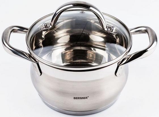 Кастрюля Bergner BG-9500L-MM Gourmet 2,5 л кастрюля bergner ultra granite 5 25 л